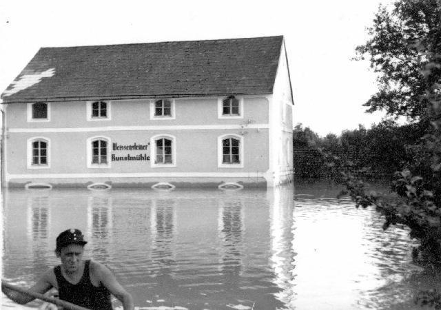 Hochwasser 1954 - Untermühle