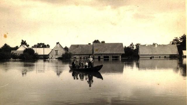 1954 - Hochwasser