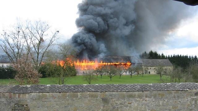 Klosterbrand 2008
